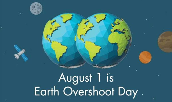 Earth Overshoot Day - 1st August
