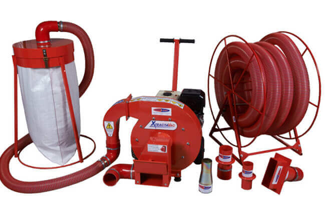Cavity wall insulation equipment