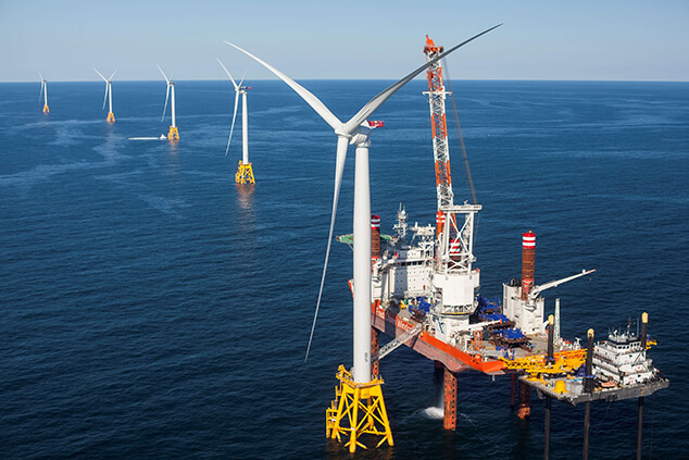 Off-shore wind power